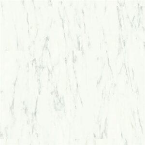Quick-Step ALPHA AVST  Marmur carrara biel AVST40136